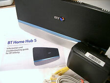 BT Home Hub 5 (Type A) VDSL ADSL Dual Band Wireless AC Gigabit Router (Plusnet)