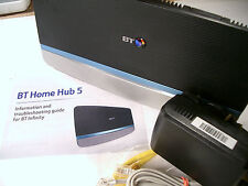 Bt home hub 5 (type a) vdsl adsl dual band wireless ac gigabit routeur (plusnet)