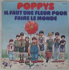 Gibrat 45 Tours Poppys 1974