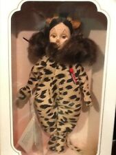 "WIZARD OF OZ COWARDLY LION STORYBOOK COLLECTION EFFANBEE DOLL 11"" #FB1159"