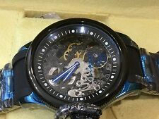17271 Invicta 52mm Mens Russian Diver Mechanical Hand Wind SS & Poly Strap Watch