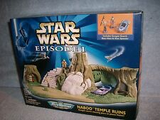 Naboo Temple Ruins Boss Nass Gungan Gian Speeder STAR WARS Micro Machines Galoob
