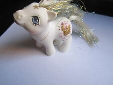 Rare Vintage G1 MLP My Little Pony Baby Princess Sparkle 1984 Hasbro Stamp