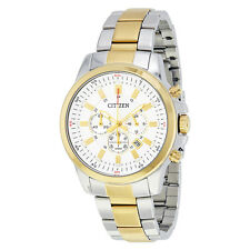 Citizen Chronograph White Dial Mens Watch AN8084-59A
