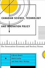 Canadian Science, Technology, and Innovation Policy: The Innovation Ec-ExLibrary