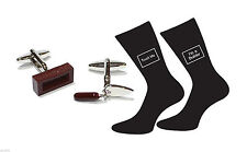 Excellent Builders Cufflinks and Socks Gift Set Builder Gift Chistmas Birthday