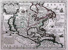 Carte antique, l'Amerique septentrionale