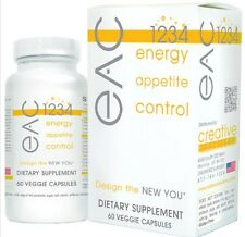 CREATIVE BIOSCIENCE EAC 1234 ENERGY APPETITE SUPPRESSANT WEIGHT LOSS DIET EX8/18