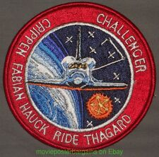 SPACE SHUTTLE Mission CHALLENGER STS-7 Sally Ride Crippin Fabian 4 Inch  PATCH