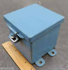 "KEYSTONE ELECTRICAL ENCLOSURE ELECTRIC BOX PROJECT BOX 4""X4""X4"" USED"