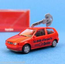 Herpa H0 043953 VW POLO Schlüsseldienst PKW Rot OVP HO 1:87 Box