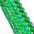 Malay Jade Gemstone Round Bead Loose Spacer Beads 16'' Strand 4 6 8 10 12 mm