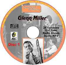 Glenn Miller  - 83 Old Time Radio Shows MP3 Audio 3 CDs 32 hours +, playing time