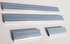 Toyota Auris Mk2 (released 2013) Sill Stainless Protectors Kick Plates