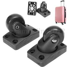 2pcs Univerasl Luggage Suitcase Replacement 360Swivel Spinner Wheels Repair Set