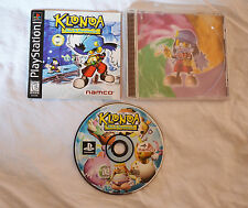 PS1 Playstation 1 Klonoa Door to Phantomile Complete