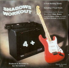 SHADOWS WORKOUT 4 +   BACKING TRACK CD BY Ian McCutcheon
