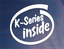 K-SERIES ALL'INTERNO novità Auto/Paraurti/Adesivo Finestrini MG/Rover/Lotus