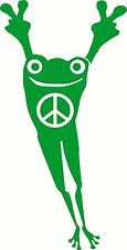 Peace Frog for Car Truck Wall Laptop Decal Vinyl Sticker Decor style 3