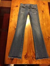 Women's Distressed COH Citizens Of Humanity Ric Rac Bootcut Jeans Size 26 X 32