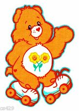 """3.5"""" CARE BEARS FRIEND BEAR CHARACTER NOVELTY FABRIC APPLIQUE IRON ON"""