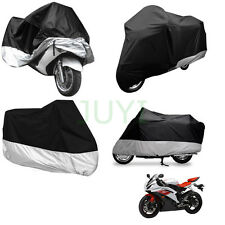 Waterproof Motorcycle Motor Bike Scooter Street Bike Cover Protector Large L