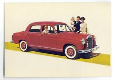 ad1452 - Mercedes-Benz 190 D car - postcard