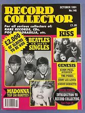 RECORD COLLECTOR Magazine - OCT 1991 No.146, BEATLES - GENESIS - KISS - PIXIES