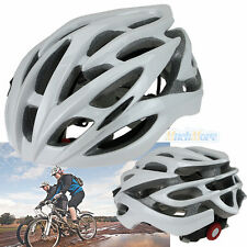28 Vents Adult Sports Mountain Road Bicycle Bike Cycling Helmet Sliver & White