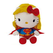 DC Comics Hello Kitty Super Hero Beanbag Plush/Soft Toy - Supergirl