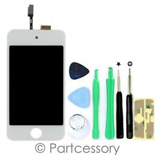 WHITE Digitizer LCD Screen Assembly Replacement For iPod Touch 4th 4 Gen 4G