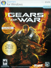 Gears of War for PC! Complete with Disc, Manual Key Code & Case! In Amazing Con!