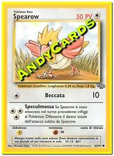 SPEAROW 62/64 - COMUNE - JUNGLE - POKEMON - ANDYCARDS