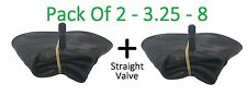 2 x 3.25 / 3.00 - 8 INNERTUBE & STRAIGHT VALVE / WHEELBARROW / WHEEL  INNER TUBE