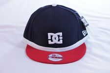 """DC SHOES """"RUDGER"""" NEW ERA NAVY/RED/WHITE SNAPBACK ONE SIZE BALL CAP/HAT"""