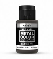 Vallejo Metal Color Acrílico De Escape Jet 77.713 pintura a base de agua 32ml