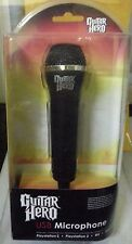 GUITAR HERO MICROPHONE USB - PS3/PS2/WII NUOVO E SIGILLATO, ITALIANO, NO IMPORT