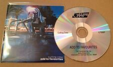 Cutting Crew - Add To Favourites UK 10 Track Promo Cd Album Ultra Rare! 2015