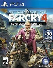 Far Cry 4 PS4 (Sony PlayStation 4, 2015) MINT CONDITION, FAST SHIPPING