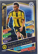 Topps Match Attax Champions 2017 bronze silver gold Limited Edition Aubameyang
