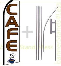 Swooper Feather Flutter Banner Sign Flag 15' Kit - CAFE q