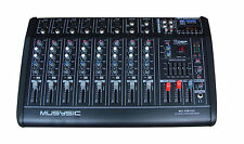 Professional 10 Channel 4000W Power Mixer Amplifier 16 DSP USB/ SD PA DJ SYSTEM