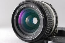 Exc++++ Nikon Nikkor Ai-s 28mm f2.8 MF Manual AI-S Lens from Japan 168