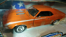 1/18 ERTL die-cast 1969 Chevy Camaro SS 396 Hugger Orange American Muscle NOS