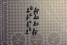 Warhammer 40K marines espaciales Devastator escuadrón agachadas piernas x4