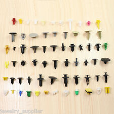 200pc/pack Car Auto Various Plastic Rivet Fasteners Push Pin Bumper Fender Panel