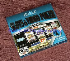 Hoyle Slots and Video Poker (PC-CDROM) BRAND NEW & SEALED 39 different machines!