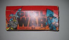 1962 CIVIL WAR NEWS ORIGINAL CARD DISPLAY BOX TOPPS  (24X RARER THAN PACK)