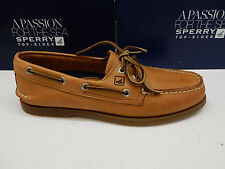 SPERRY TOP SIDER MENS BOAT SHOES A/O 2-EYE SAHARA SIZE 10.5