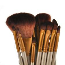 12pcs Kabuki Professional Make up Brush Brushes Set Makeup Foundation Blusher